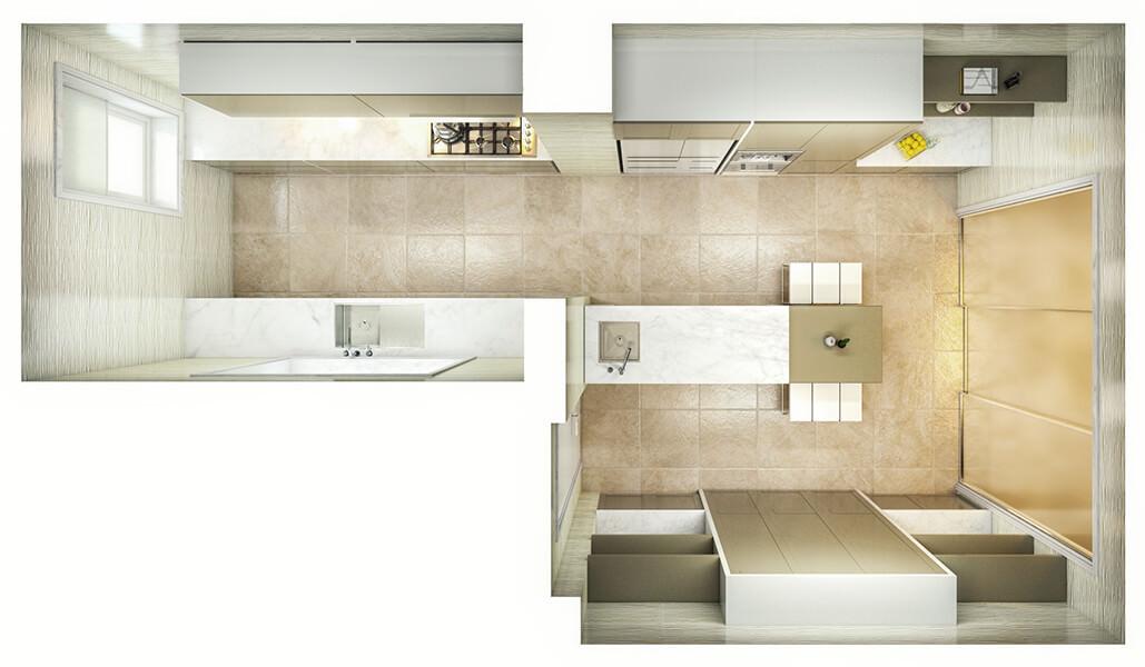 Kitchen Layout 44