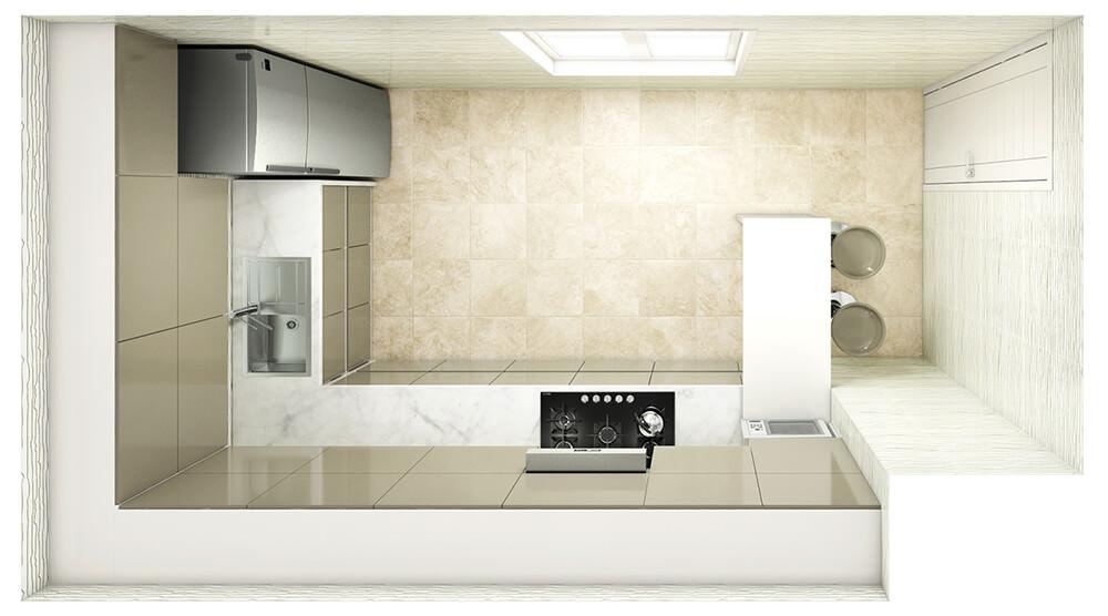 Kitchen Layout 7
