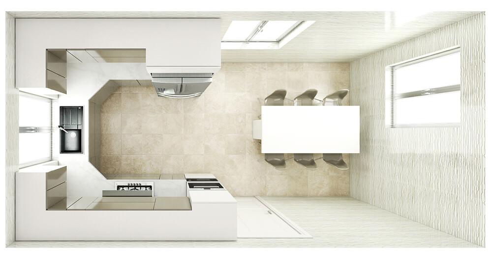 Kitchen Layout 9