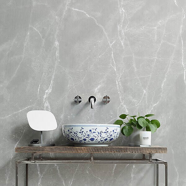 Grey Marble Design Wallpaper