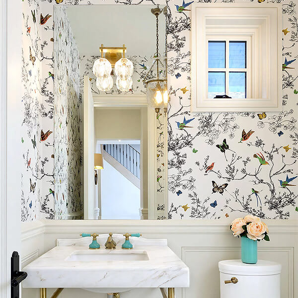 Mix and match wallpaper with Butterfly