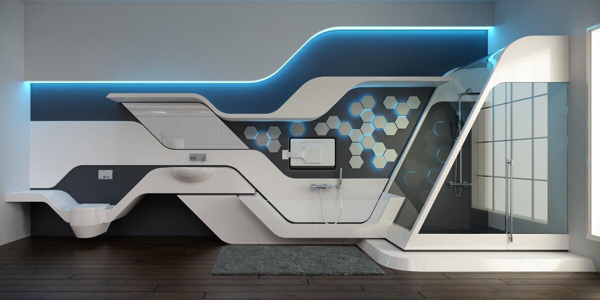 Modular Bathroom Suite