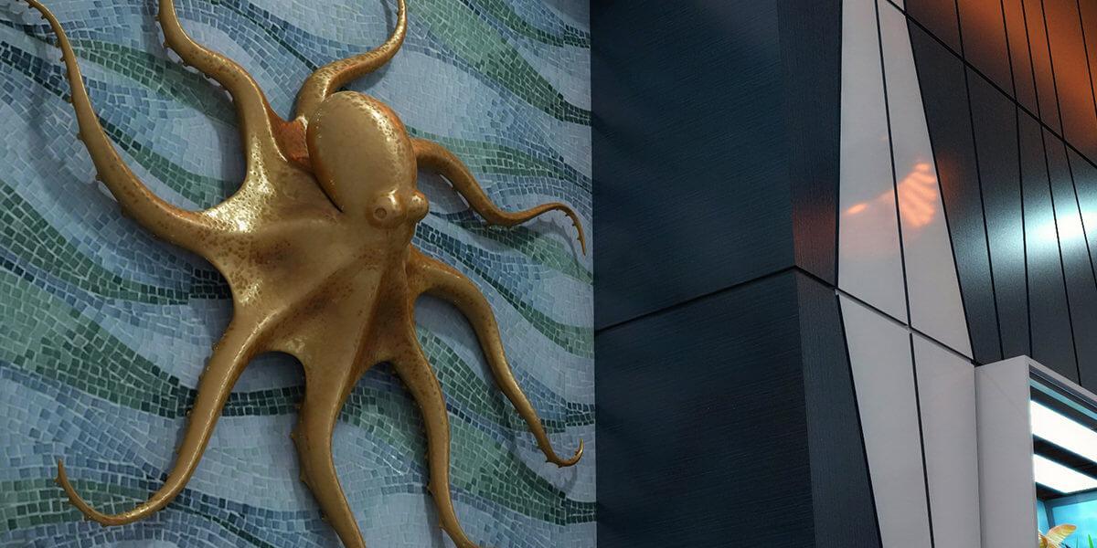 Octopus Radiator