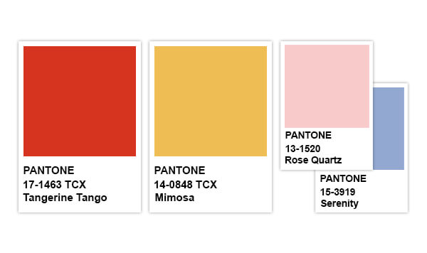 Pantone Color of the Years