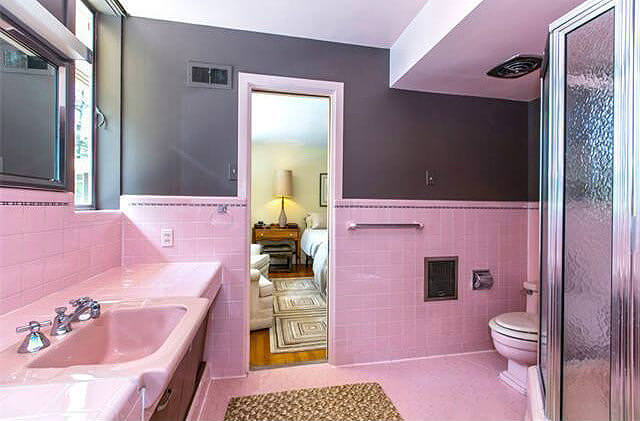 A Complete Pink Bathroom