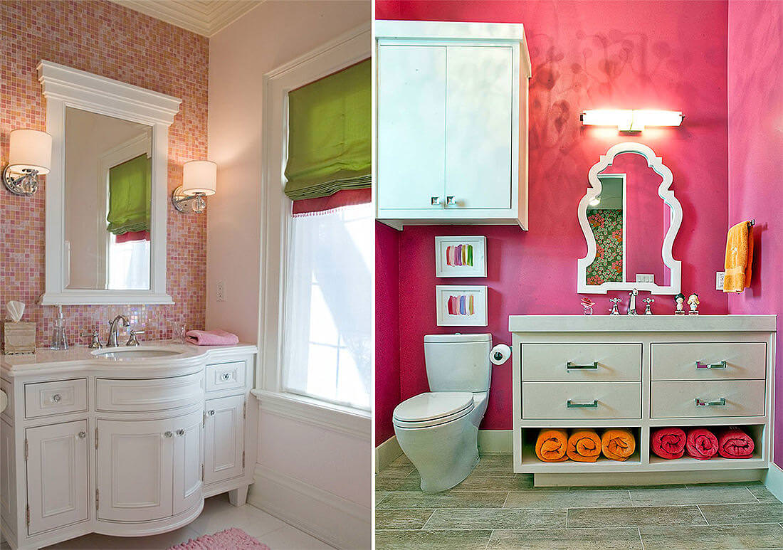 Pink Patterned Decor