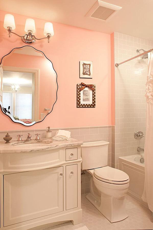 Light Pink Bathroom Decor