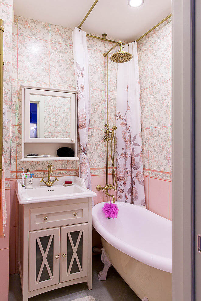 Floral Pink Decor