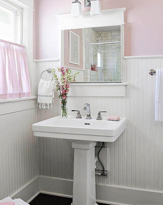 Light Pink Bathroom