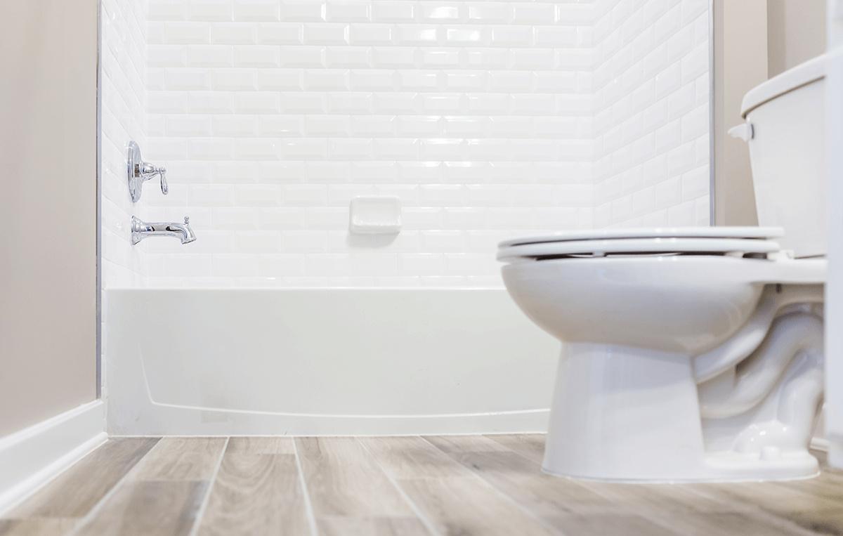Popular Flooring Options in Transitional Bathrooms