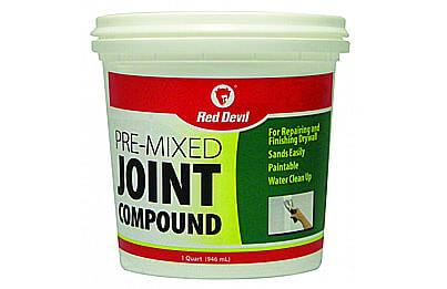 Premixed wallboard compound