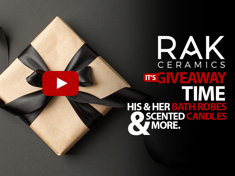 RAK Ceramics Gift Box Giveaway - For A Limited Time Only
