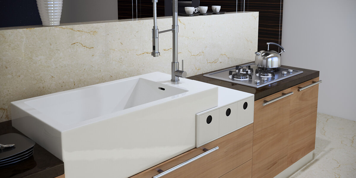 Sink With Drawer