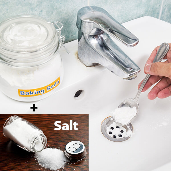 Salt and Baking Soda