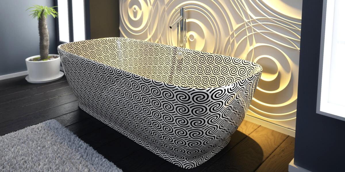 E-Wave Bathroom Suite