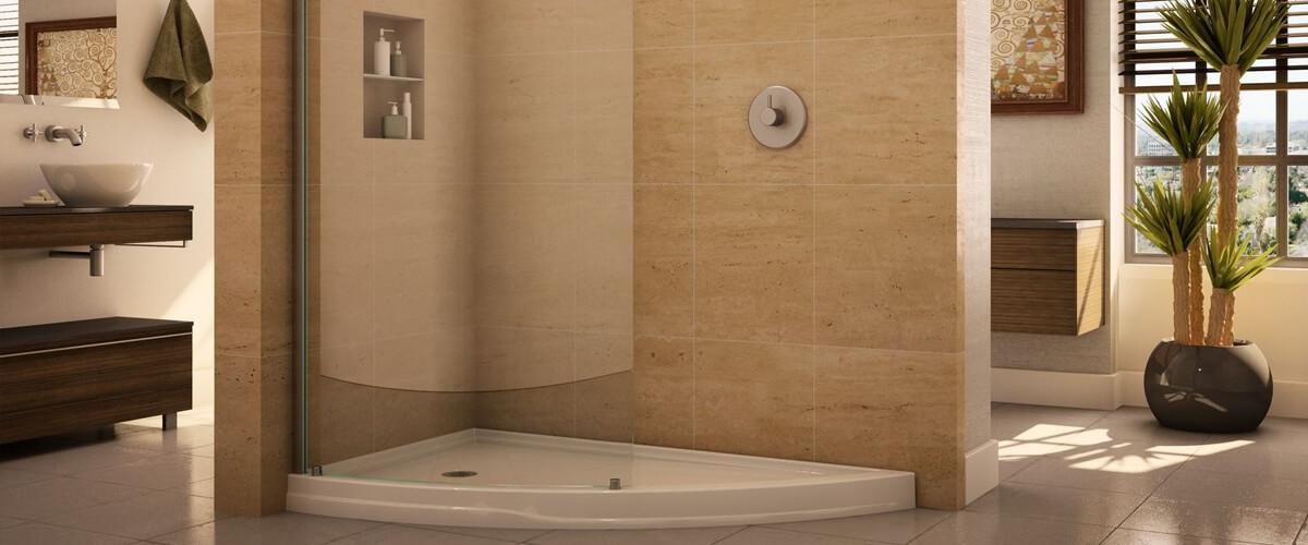 Door-Less Shower Enclosures