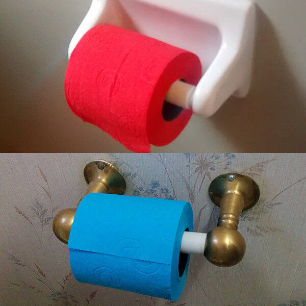 Weird Colored Toilet Papers