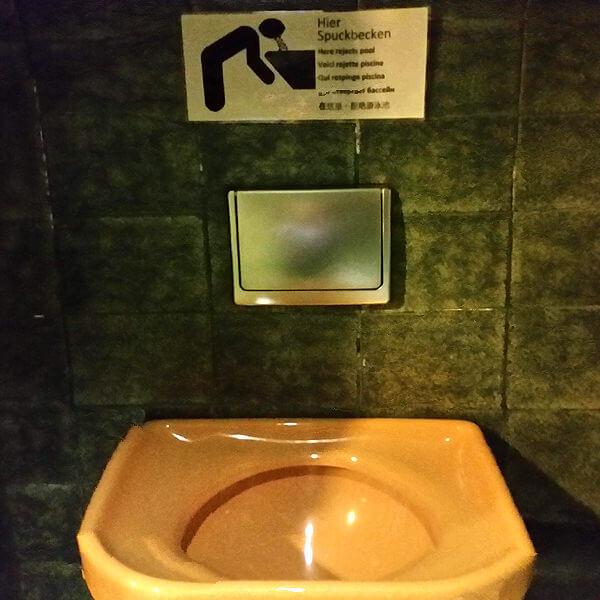 Puke Sink