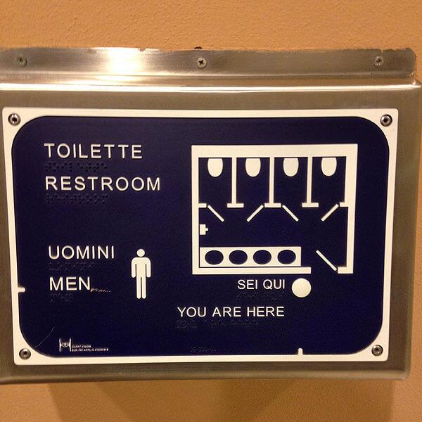 Weird Toilet Sign