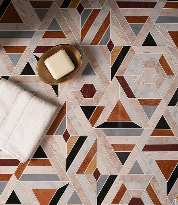Mosaic Tiles Wet room