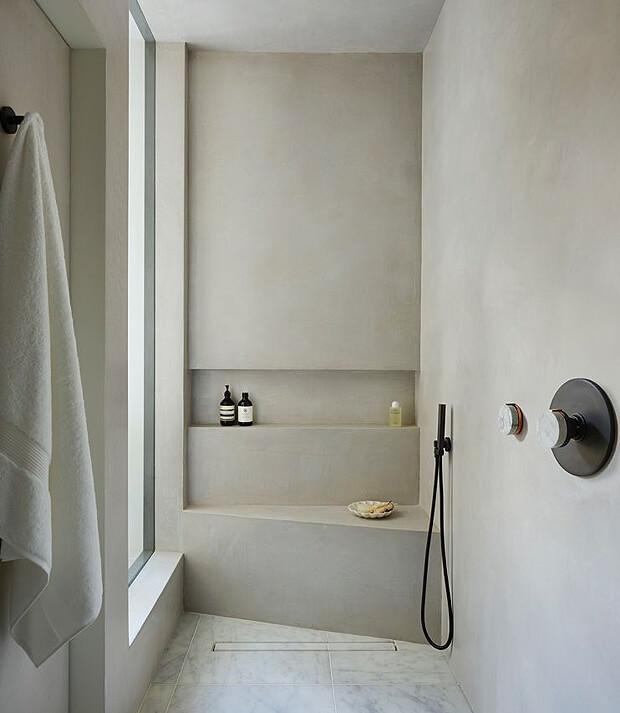 Beige Wet room