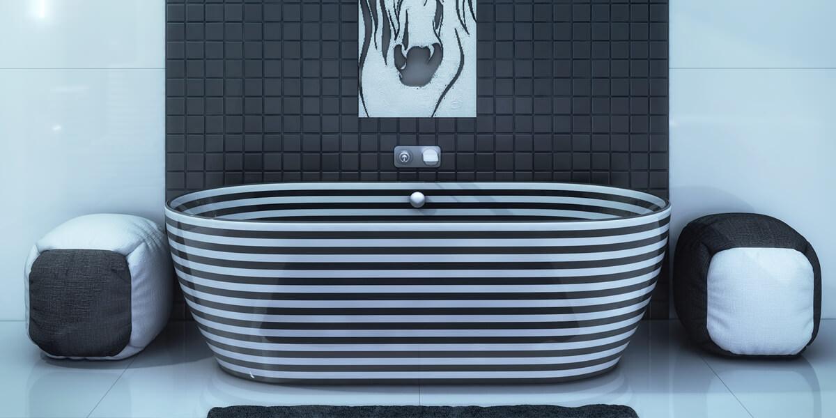 Zebrano Bathroom Suite